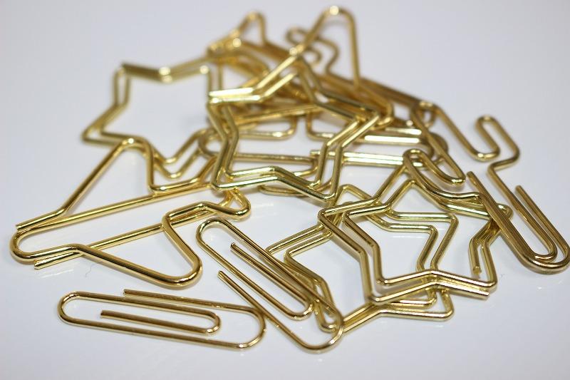 金色 オリジナルゼムクリップ